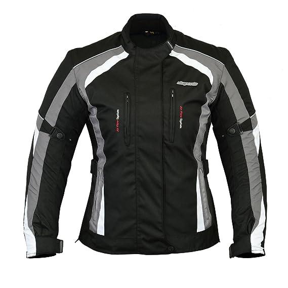Veste de moto MBSmoto MJ-24 pour femme Imperm/éable et coupe-vent