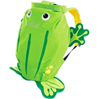 Trunki Ribbit the Frog Paddlepak Children's Backpack, Green, Medium