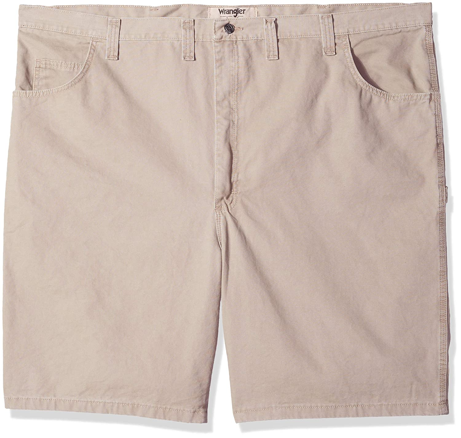 5c5f16e88f Wrangler Authentics Men's Big & Tall Classic Relaxed Fit Carpenter Short at  Amazon Men's Clothing store:
