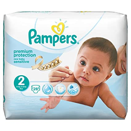 Pampers - Sensitive - Pañales - Talla 2 (3-6 kg) - 2