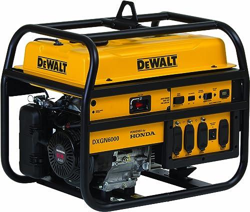 DeWalt PD532MHI005, 5300 Running Watts 6000 Starting Watts, Gas Powered Portable Generator