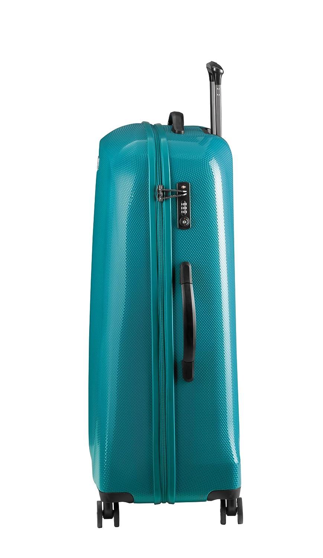Trolley 65 cm 8 dn760 05 de verde ABS Luxus 4rä.TSA Travel Line 8700 D & N: Amazon.es: Deportes y aire libre