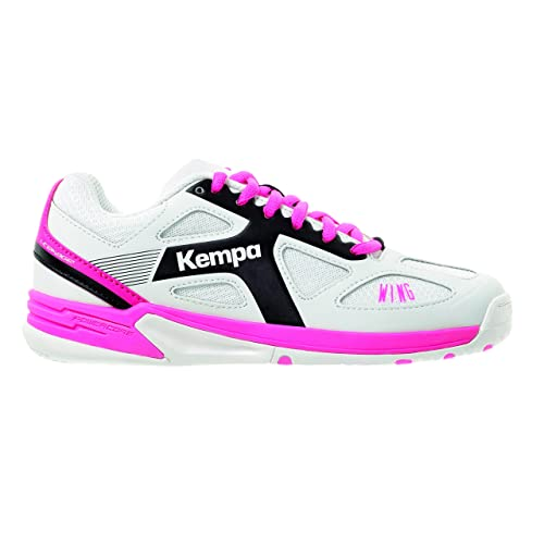 online store 4e4d4 2c19a Kempa Unisex-Kinder Wing Junior Handballschuhe