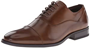 Kenneth Cole Unlisted Men's Half-Time Oxford, Cognac, 9 M US