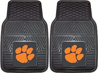"product image for FANMATS 8778 NCAA Clemson University Tigers Vinyl Heavy Duty Car Mat Black, 18""x27"""