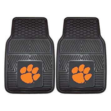 Amazon.com: FANMATS NCAA Clemson University Tigers Vinyl Heavy Duty ...