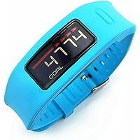 X-TECH Wristband Band for Garmin Vivofit Replacement Strap Bands(not for Garmin Vivofit 2) (Blue)