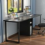 Amazon Com Double Folding Mobile Desk Black Kitchen Amp Dining