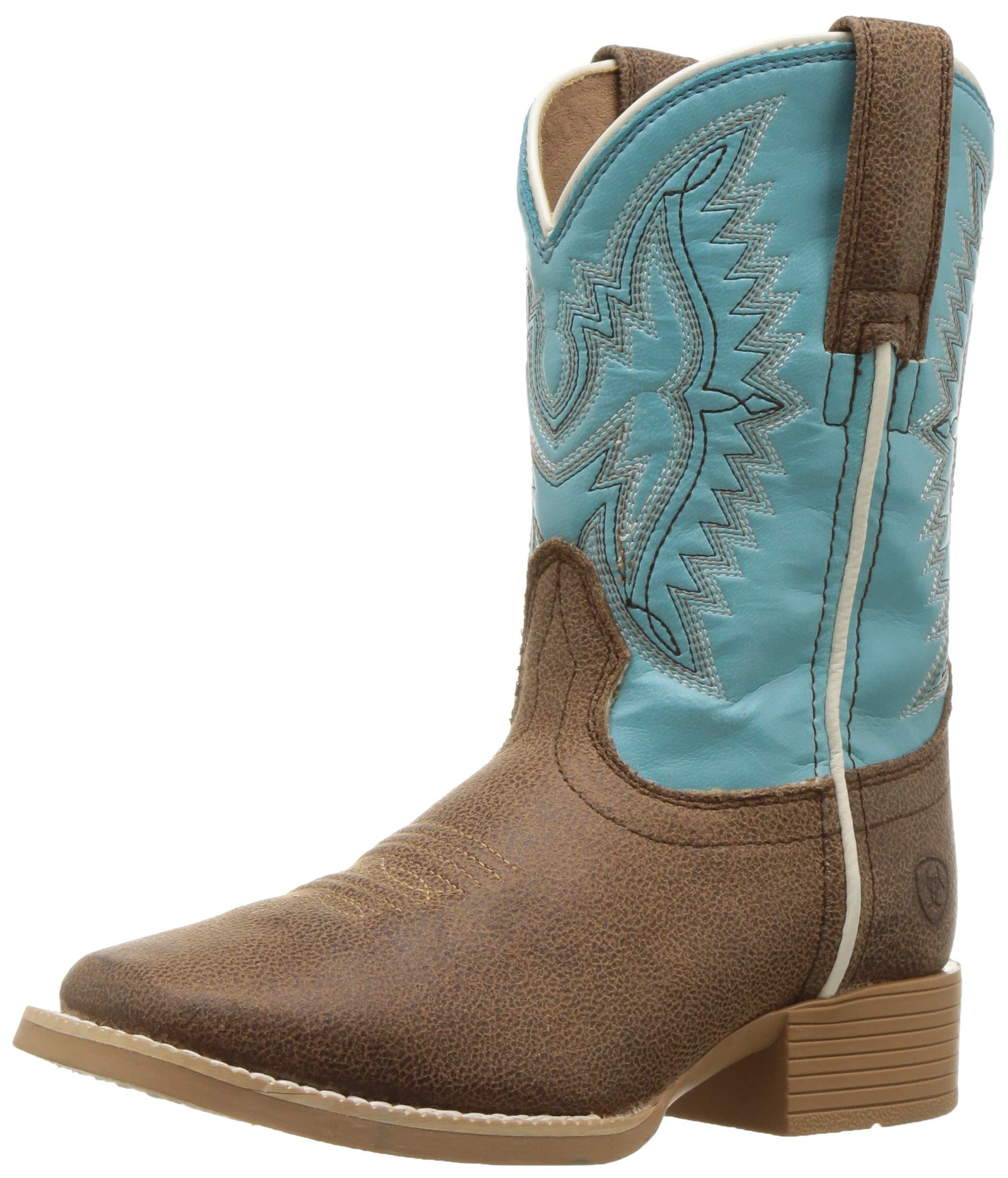 Ariat Baby BRISTO Western Boot, Tan Tilt, 9.5 M US Toddler