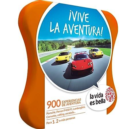 LA VIDA ES BELLA - Caja Regalo - AVENTURA PARA DOS - 470 experiencias de aventura como parapente, surf, kayak y más en España y Andorra: Amazon.es: Deportes y aire libre