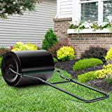 Goplus Tow Lawn Roller Water Filled Poly Push