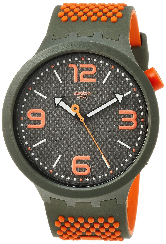 Swatch Reloj Analógico para Hombre de Cuarzo con Correa en ...