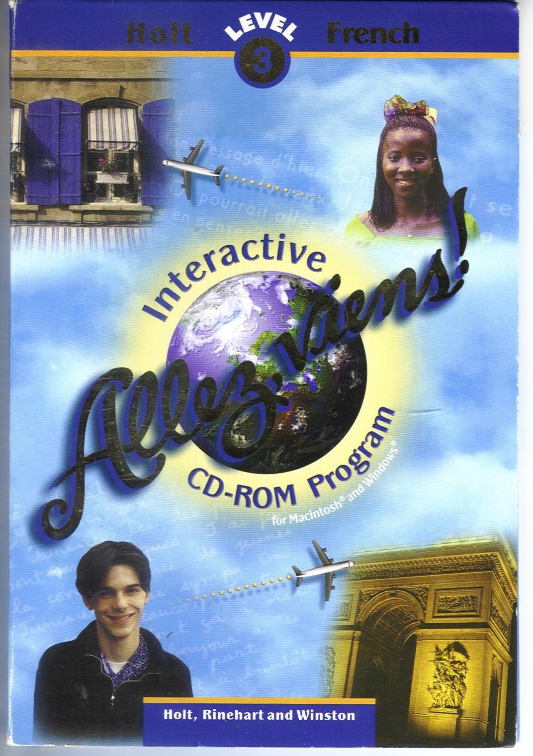 Allez Viens, Level 3: Interactive CD-ROM Program (French Edition) PDF