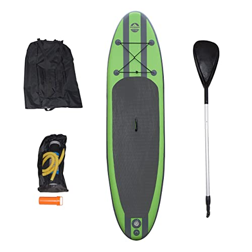 Outdoor Tuff SUP OTF-10326SUP Inflatable Backpack Paddle Board Sport with Adjustable Paddle, 275-Pound Capacity