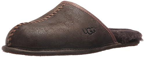3b6dc26ca5c UGG Men's Scuff Deco Scuff Slipper, Stout, 8 M US: Amazon.ca: Shoes ...