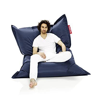 Astounding Buy Fatboy The Original Bean Bag Chair Blue Online At Low Onthecornerstone Fun Painted Chair Ideas Images Onthecornerstoneorg