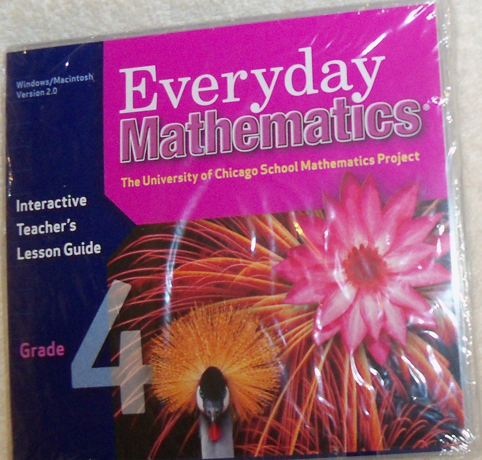 Download Everyday Mathematics, Grade 4, Interactive Teacher's Lesson Guide CD PDF