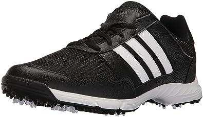 adidas Men's Tech Response WD Cblack/F Golf Shoe
