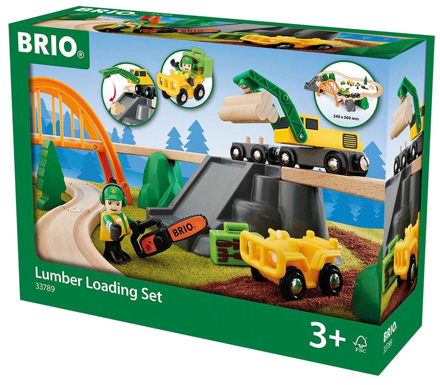 33789 BRIO Lumber Loading Set