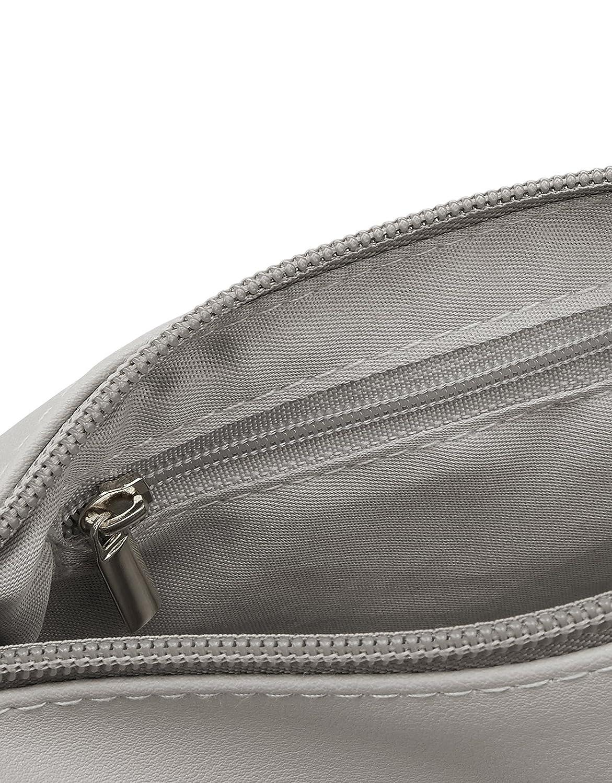 Accessorize - Monedero de Piel Mujer gris gris: Amazon.es ...