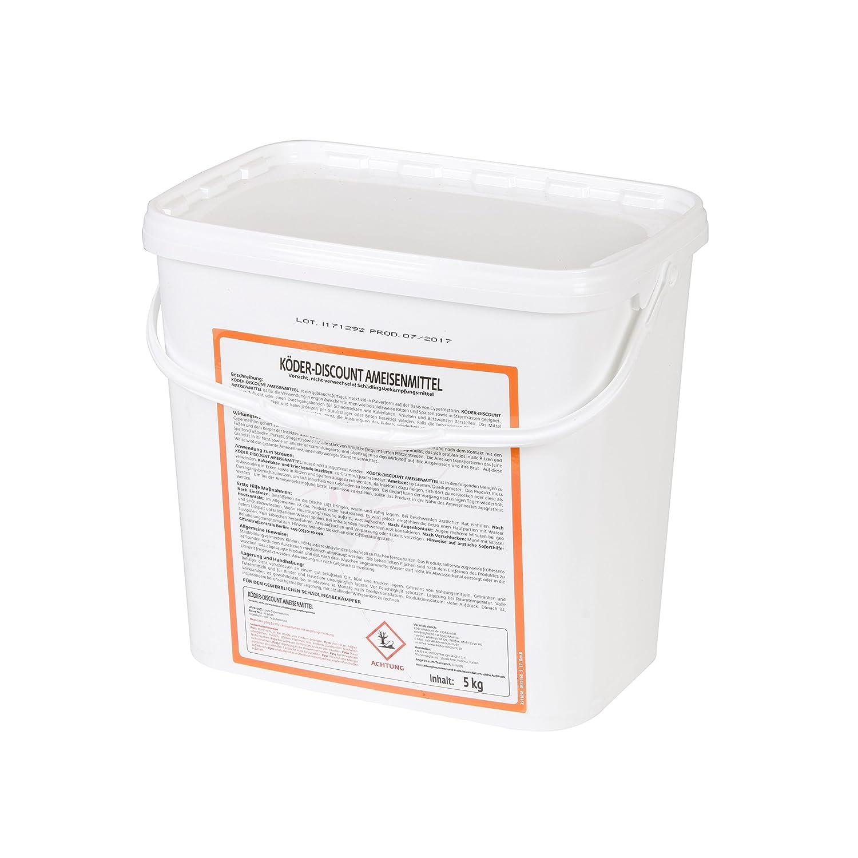 Köder-Discount 1 kg Ameisengift Granulat Ameisenmittel für Innen, Außen, Haus, Garten, Rasen - Ameisen Streumittel Außen