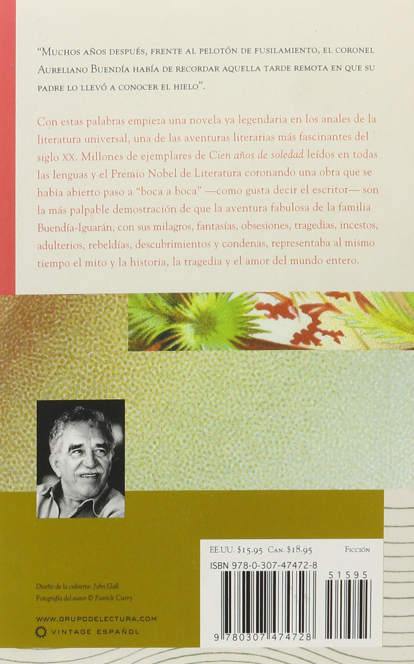 Cien años de soledad: Gabriel García Márquez: 9780307474728: Literature:  Amazon Canada