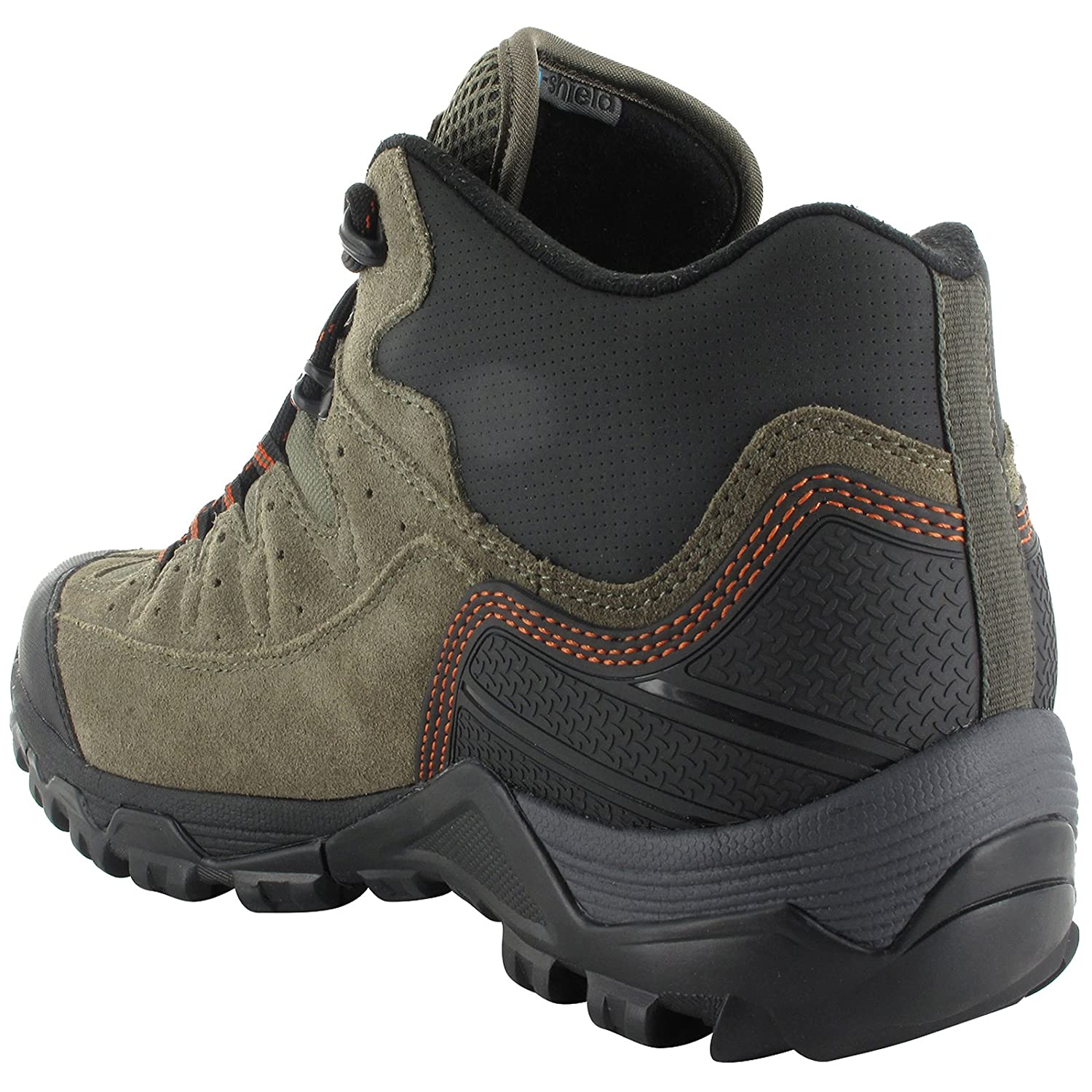Mens HI-TEC OX Belmont Mid I WP Waterproof Michelin Sole Walking Hiking Boots-UK 13 (EU 47): Amazon.es: Zapatos y complementos