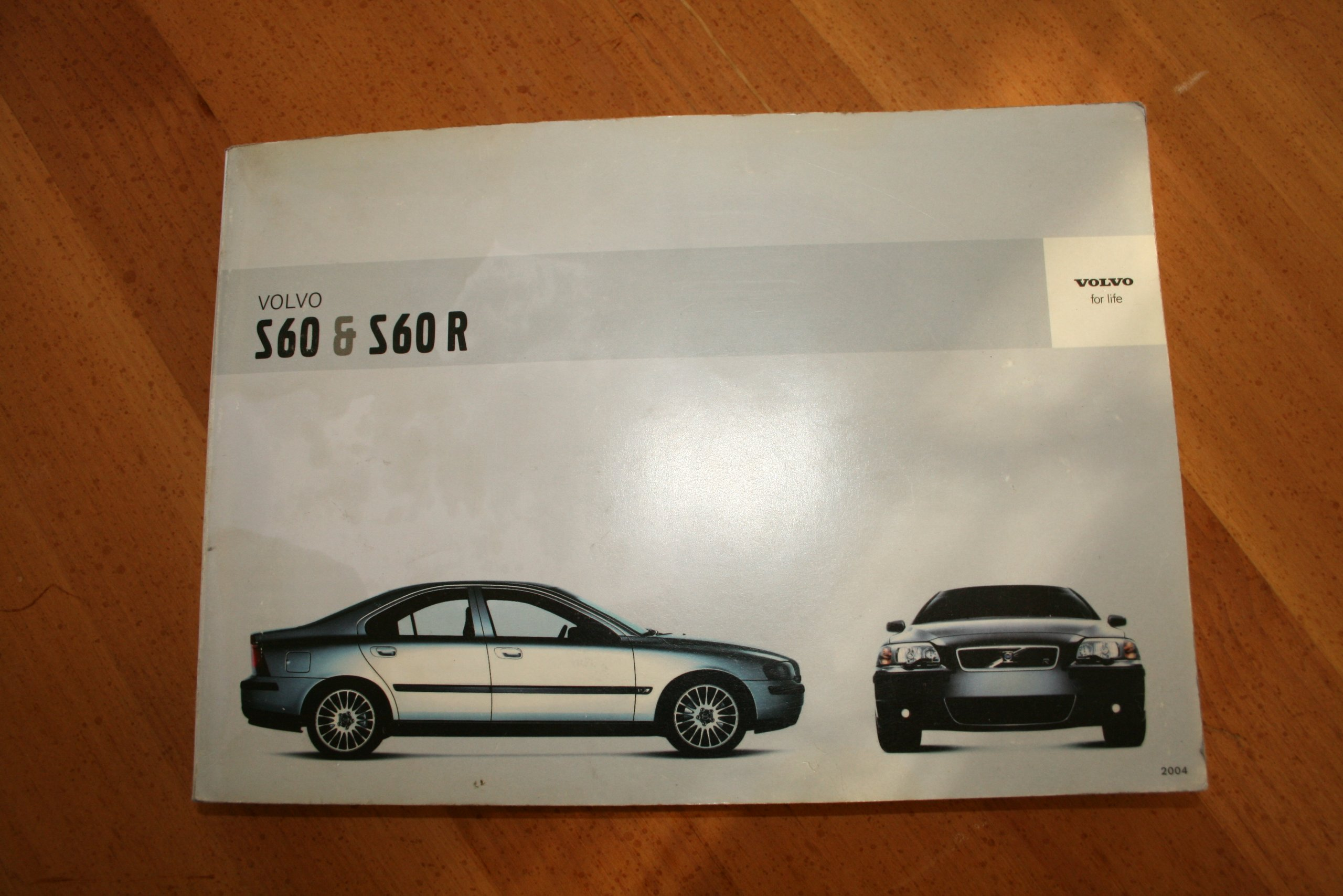 2004 Volvo S60 And S60r Owners Manual Car Corporation Wiring Schematic Books