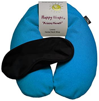 Amazon.com: Happy Wraps, sin perfume semillas de lino cuello ...
