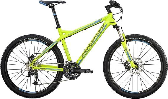 Bergamot - Vitox 7.4 MTB 2014 - Bicicleta de montaña, color lima, azul y gris Talla:38cm (157-162cm): Amazon.es: Deportes y aire libre
