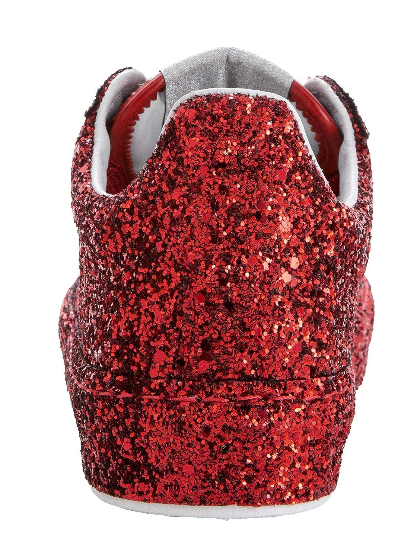 KLiNGEL KLiNGEL KLiNGEL Damen PlateauTurnschuhe aus funkelndem Glitter-Material 39 f5f39c