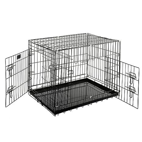 Pet Trex - Caseta Plegable para Perros, Gatos o Conejos