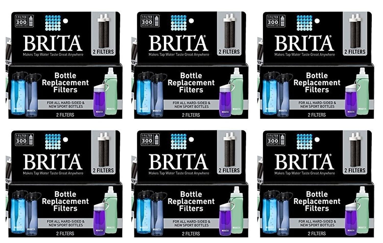 Amazon.com: (2 Packs) Brita Replacement Bottle Filters (Model BB06 ...