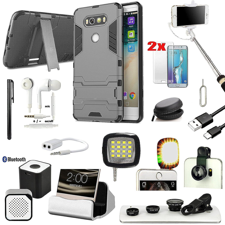 14 x Case Charger Speaker LED Light Monopod Fish Eye Accessory Bundle For LG V20