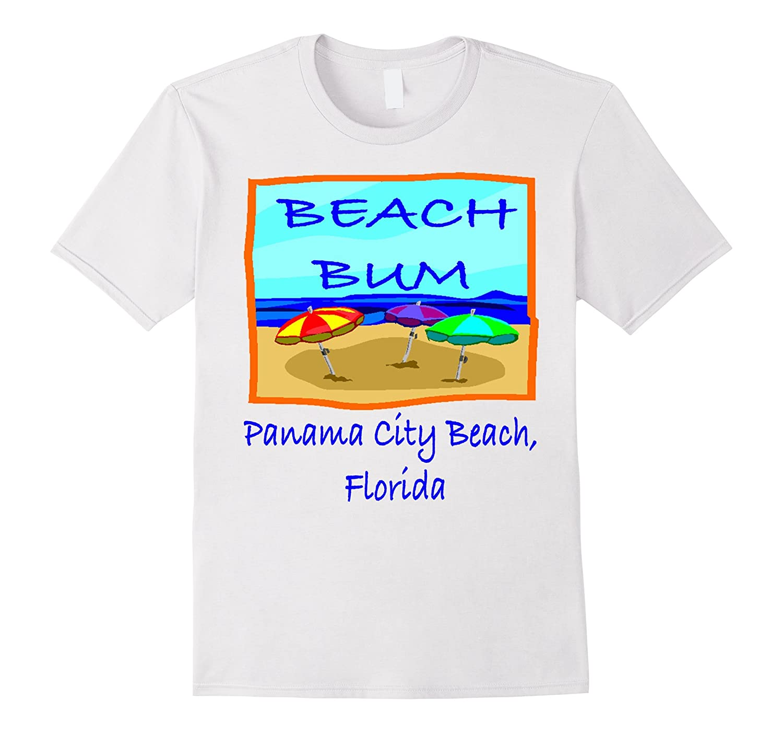 Beach Bum Panama City Beach Florida tee shirt-CD