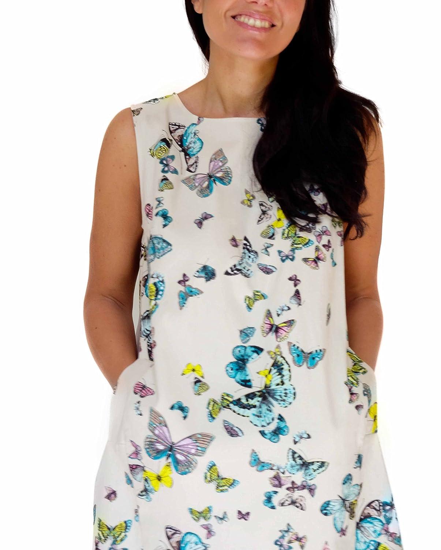 Atelier Moki, Butterfly Dress - Cream