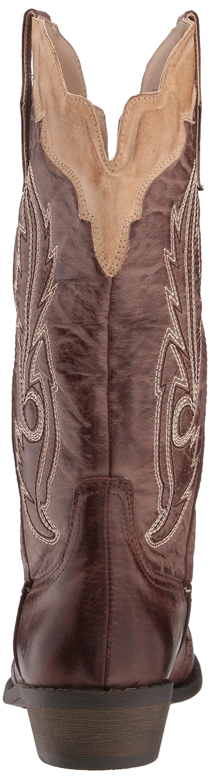 Coconuts by Matisse Women's Cimmaron Boot,Choco/Beige,10 M US by Coconuts by Matisse (Image #2)