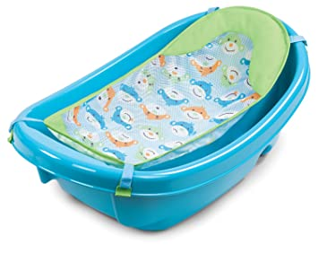 Amazon.com : Summer Infant 3 Stage Newborn to Toddler Baby Bath ...