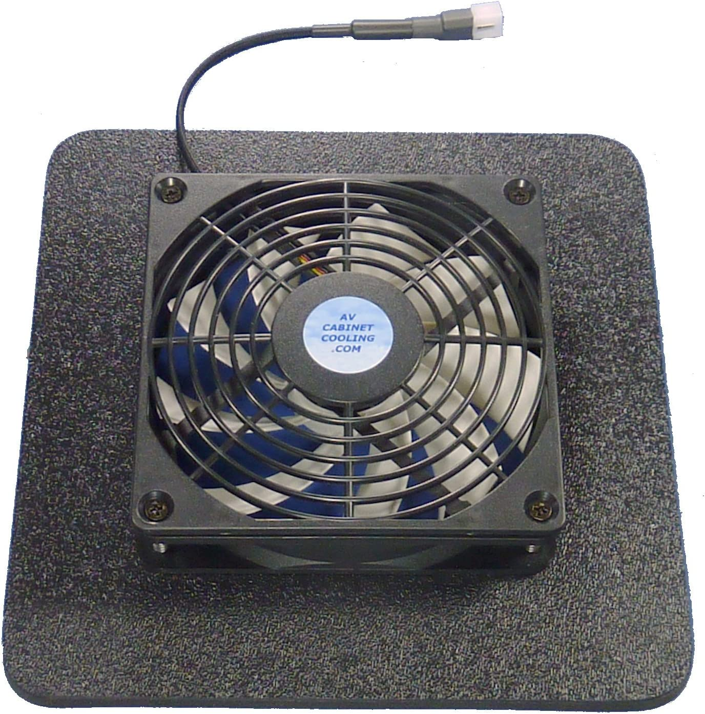 Home Theater 120mm multispeed cooling fan w//Airseal base for Amps and Receivers