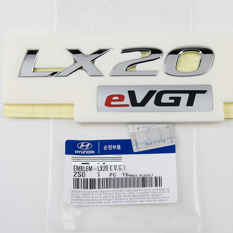KDM Hyundai Tucson LMX20 EVGT Emblem GENUINE OEM PART by Mobis