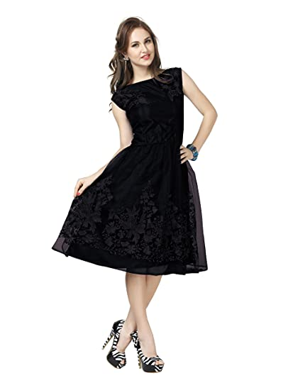1312d40db71 Aelicia Women s Skater A-Line Dress  Amazon.in  Clothing   Accessories