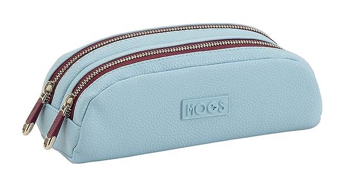 MOOS SAFTA Estuche Grande Capsula Blue Oficial 220x50x90mm: Amazon.es: Ropa y accesorios