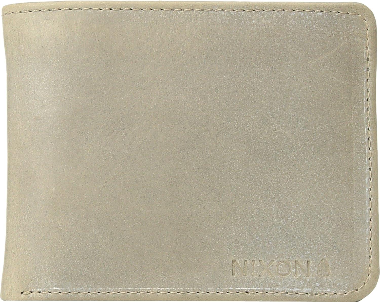 NIXON Men's Stealth Slim Bi-Fold Wallet Black One Size Nixon-Men's C2345-000
