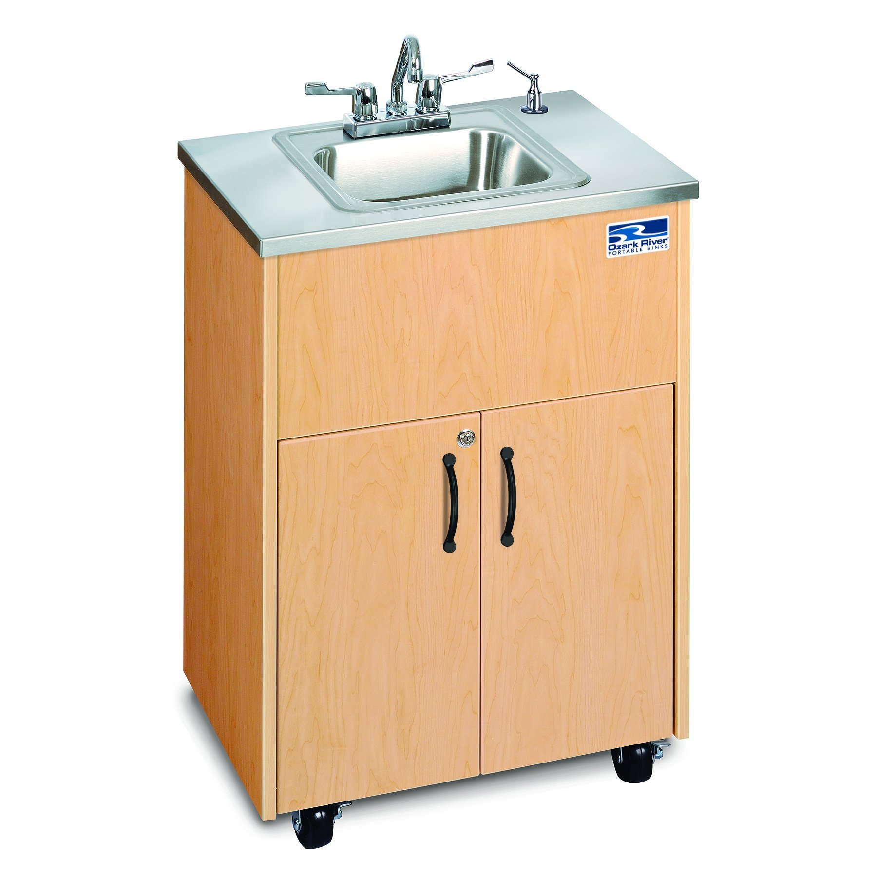 Ozark River Portable Sinks ADSTM-SS-SS1N Silver Premier 1 Portable hand washing station