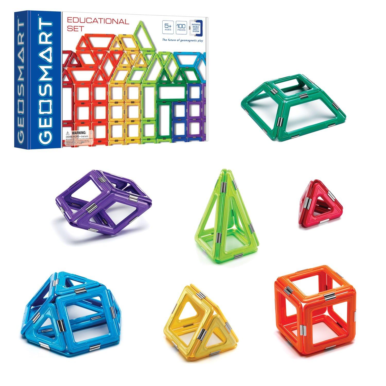 GeoSmart Educational Set, 100 Pieces