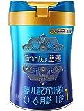 美赞臣(Mead Johnson)蓝臻系列 婴儿配方奶粉900克罐装 1段(0-6月龄) 富含乳铁蛋白 (荷兰原装进口)