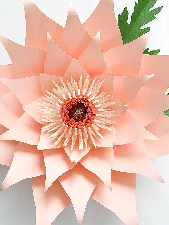 Petal 89 Giant Paper Flower Template Kit to Make Startburst and Dahlia Flowers
