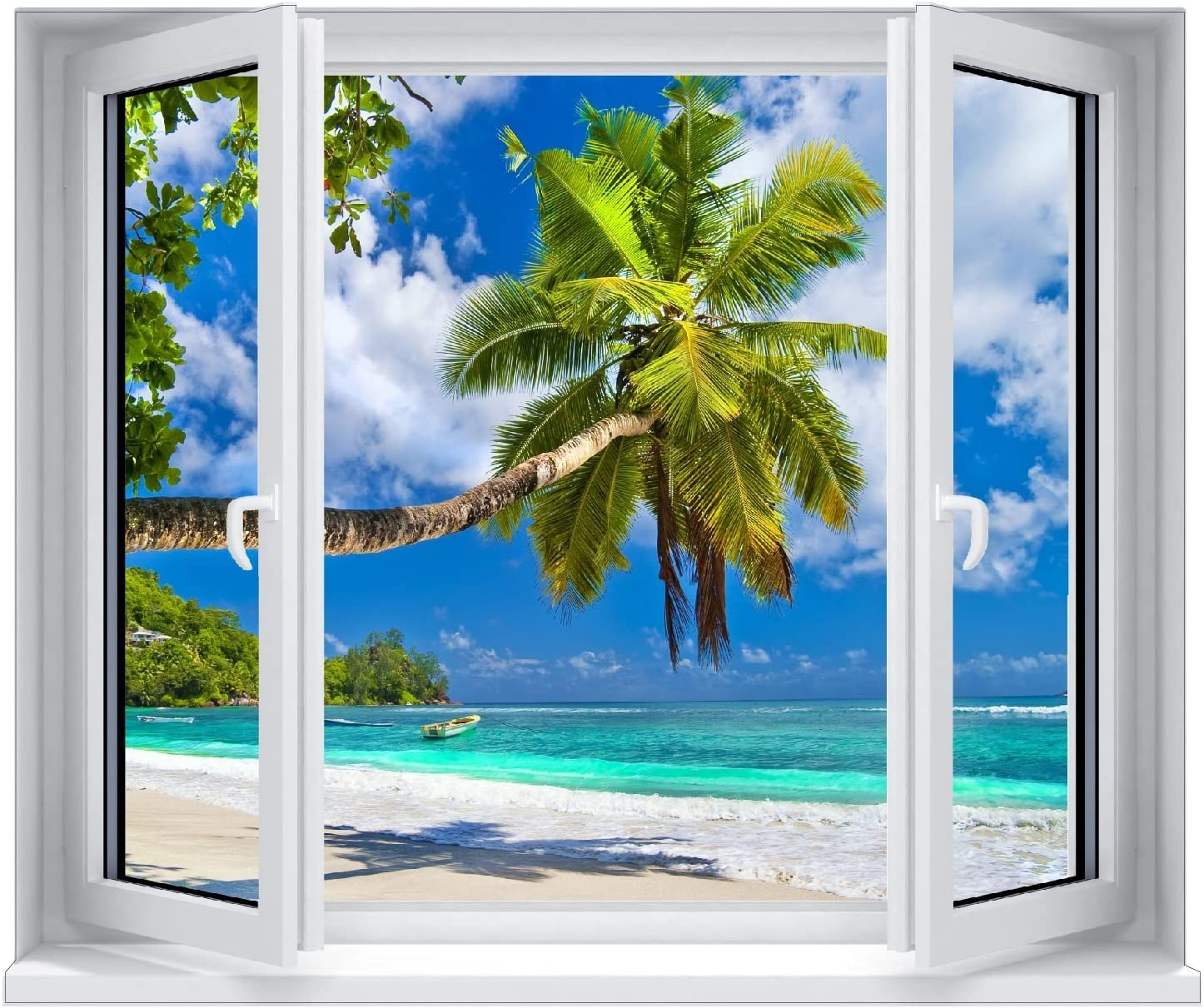 Window stickers trompe l/'oeil palms 5328 5328