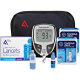 Bayer Contour NEXT Diabetes Testing Kit, 100 Count | Contour NEXT EZ Meter, 100 Contour NEXT Test Strips, 100 Lancets, Lancing Device, Control Solution, Manuals, Log Book & Carry Case