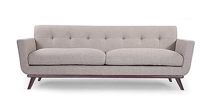 Amazon.com: Kardiel Jackie Mid-Century Modern Classic Sofa, Dove ...